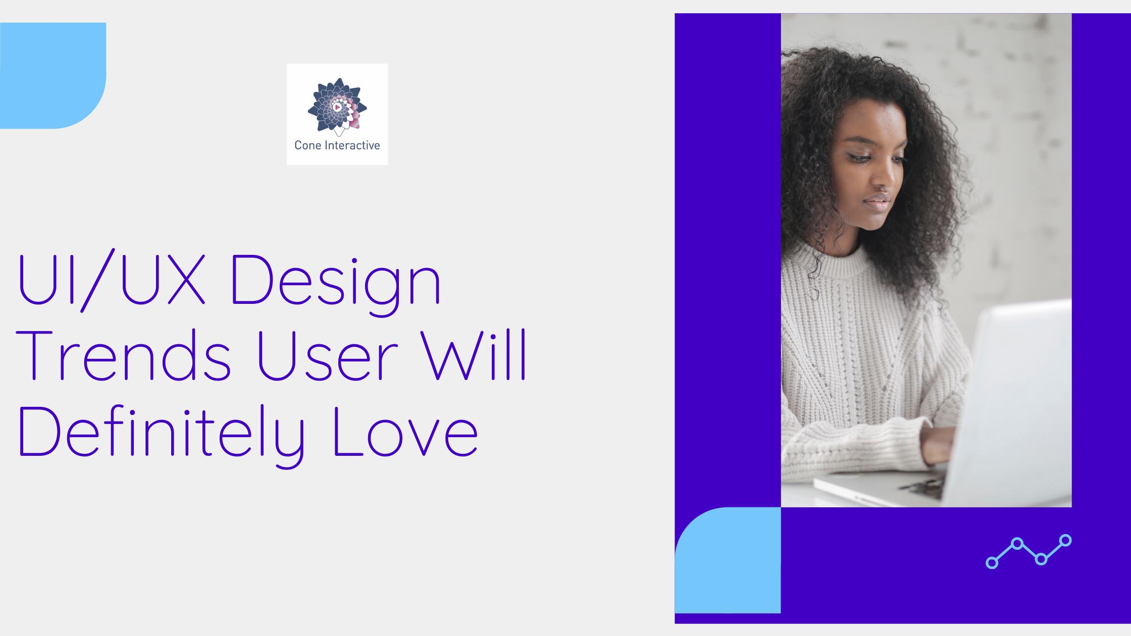 UI UX design trends