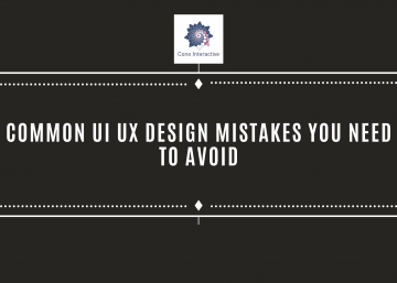 Common UI UX Design Mistakes