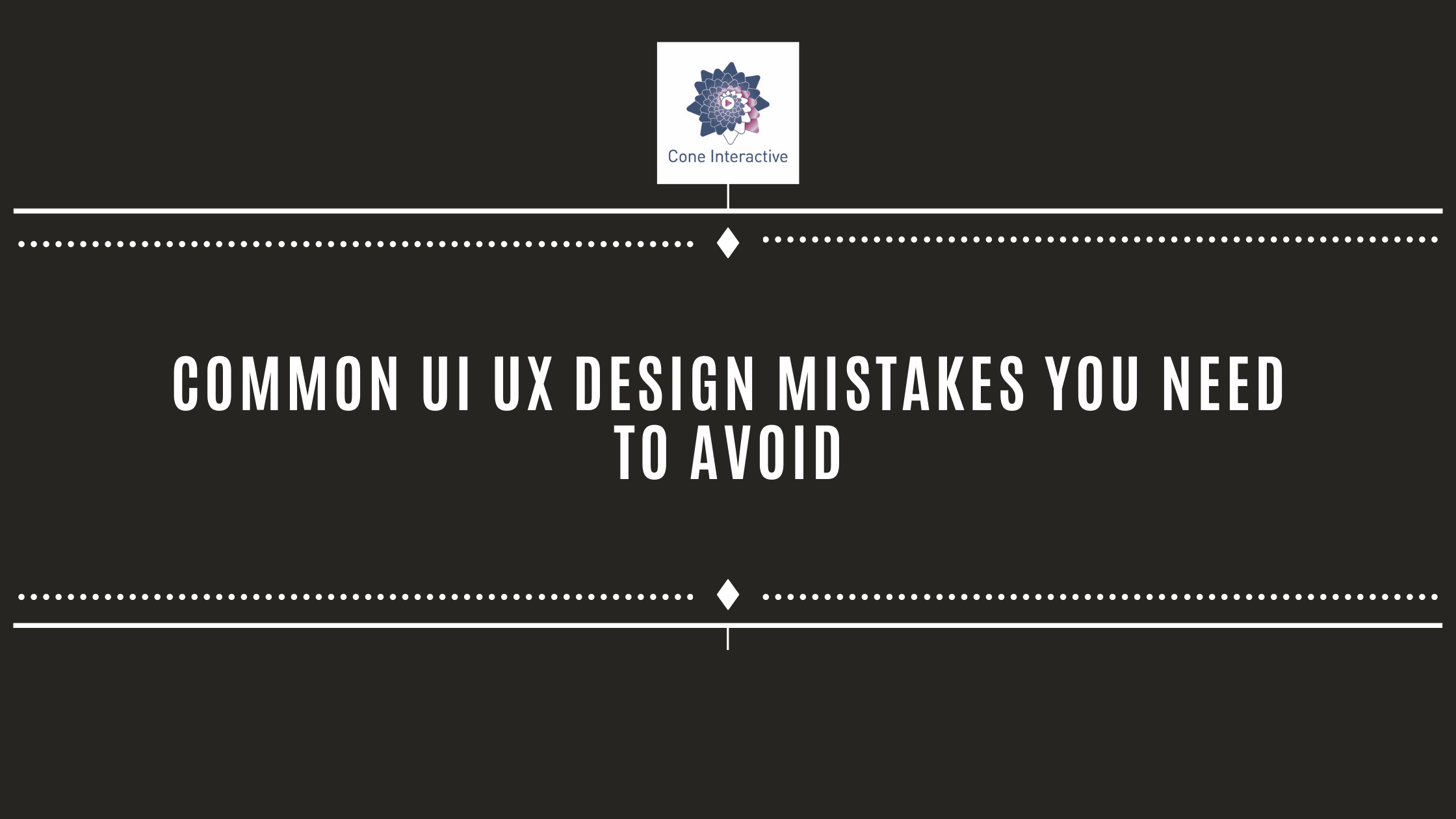 Common UI UX Design Mistakes